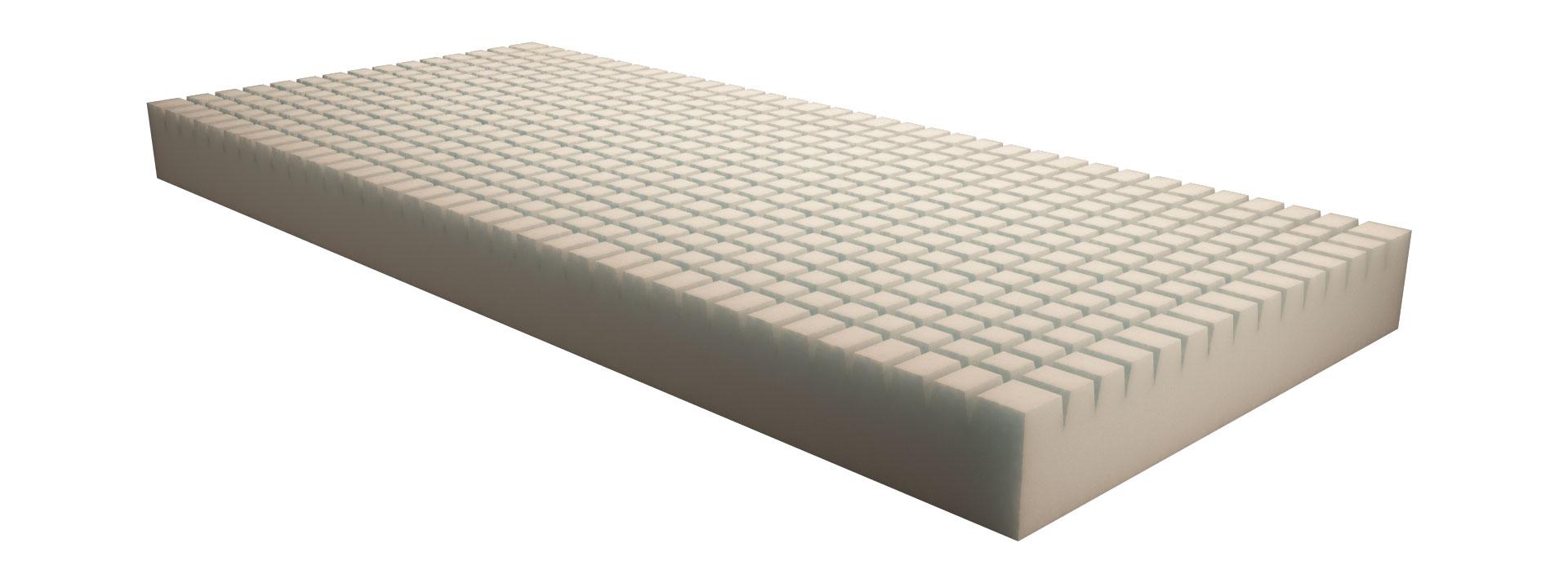 Materasso A Memoria Di Forma.Materasso Flex Antidecubito Statico In Schiuma Espansa Poliuretanica